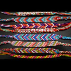 Accessories - String and bead bracelets